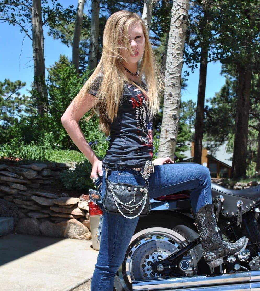 Biker Hip Bags